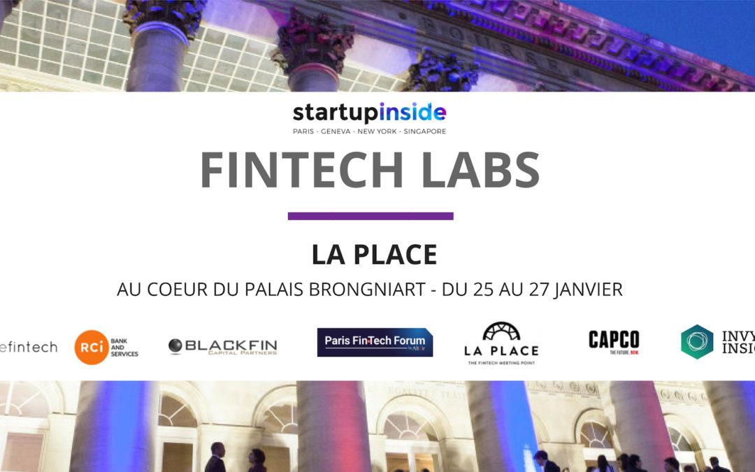 Fintech Labs I 25-27 janv, 19