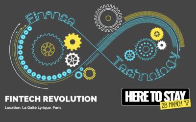 Fintech R:Evolution, l'événement annuel de France Fintech revient le 28 mars 2017