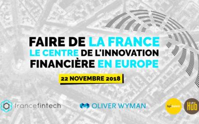 Conférence France FinTech x Oliver Wyman