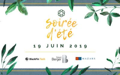 Soirée d'été France FinTech • 19 juin 2019