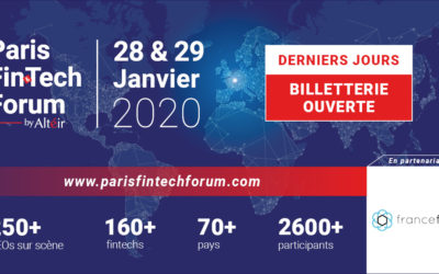 Paris Fintech Forum 2020 • 28 & 29 janvier 2020