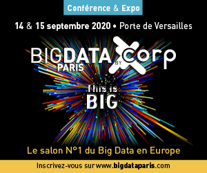 Salon Big Data Paris I 14 & 15 septembre 2020