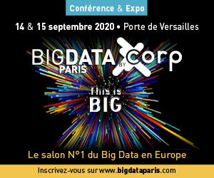 Salon Big Data Paris I 14 & 15 septembre 2020