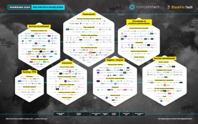 France FinTech et BlackFin Tech publient le panorama des fintech françaises 2020