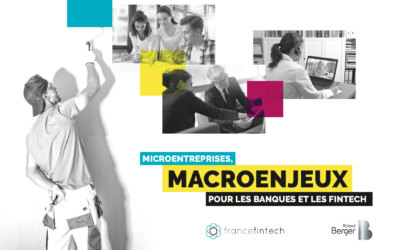 """Publication d'un livre blanc """" Microentreprises, macroenjeux pour les banques et les fintech"""""""