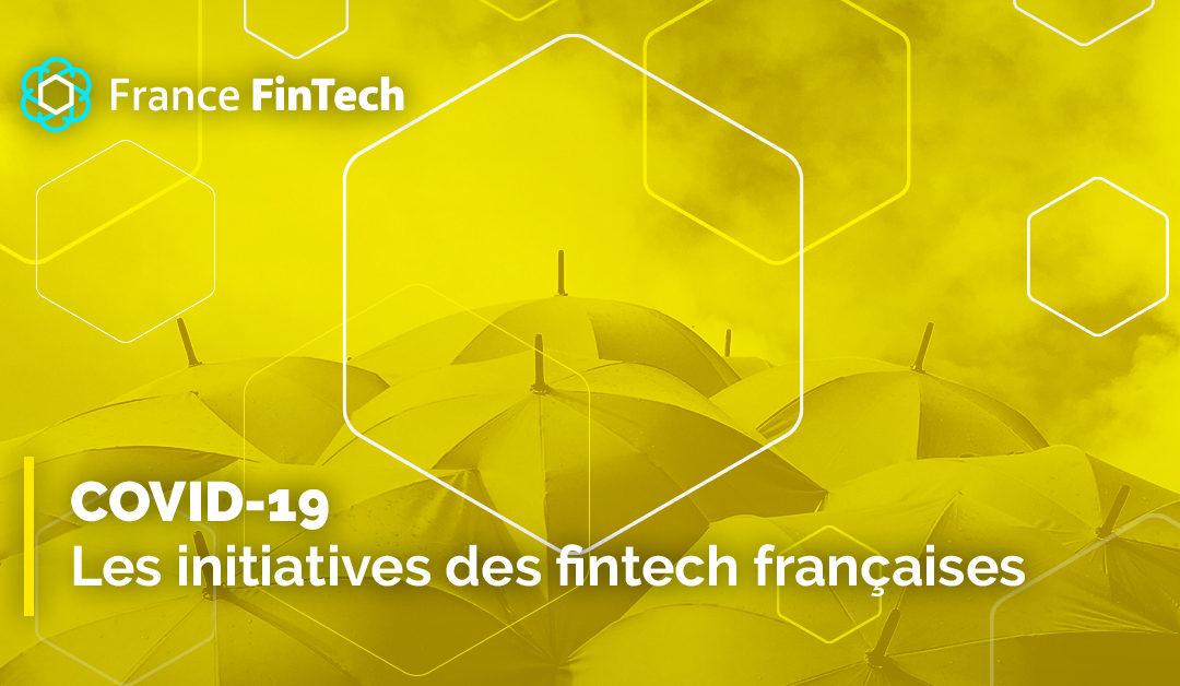 COVID-19 : les initiatives des fintech françaises