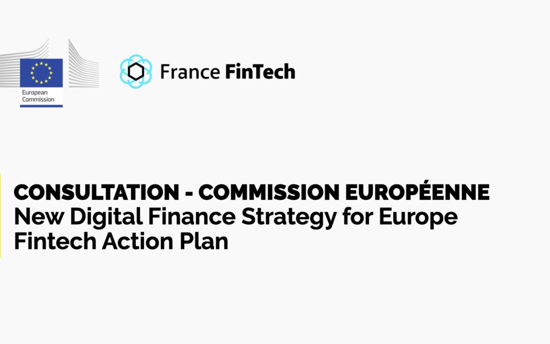 Consultation Commission européenne – Fintech Action Plan