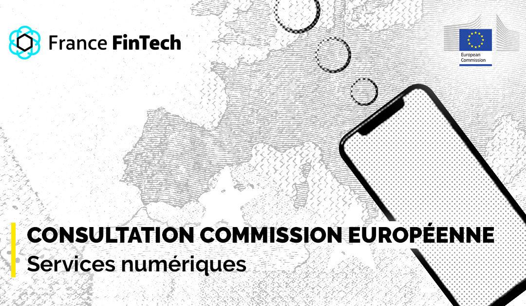 Consultation Commission européenne – Services numériques