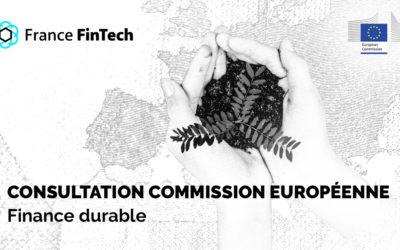 Consultation Commission européenne – Finance durable