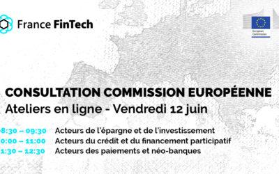 Ateliers Commission européenne – Fintech Action Plan