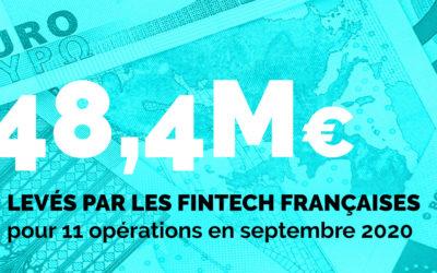 Bilan mensuel des levées de fonds – Septembre 2020