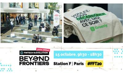 France FinTech fait le bilan de ses émissions de carbone avec Greenly à l'occasion de Fintech R:Evolution et vise la neutralité avec EcoTree.