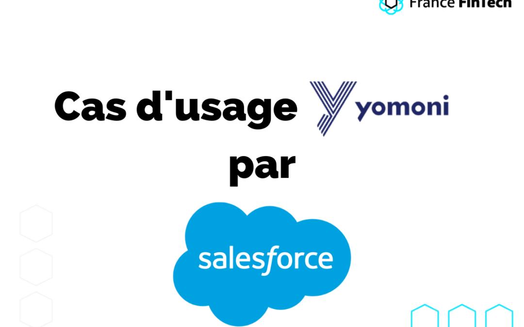 Cas d'usage Salesforce, partenaire de France FinTech