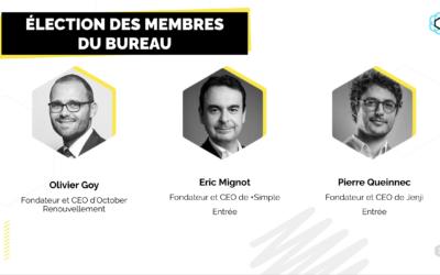 Nouveaux membres du bureau France FinTech