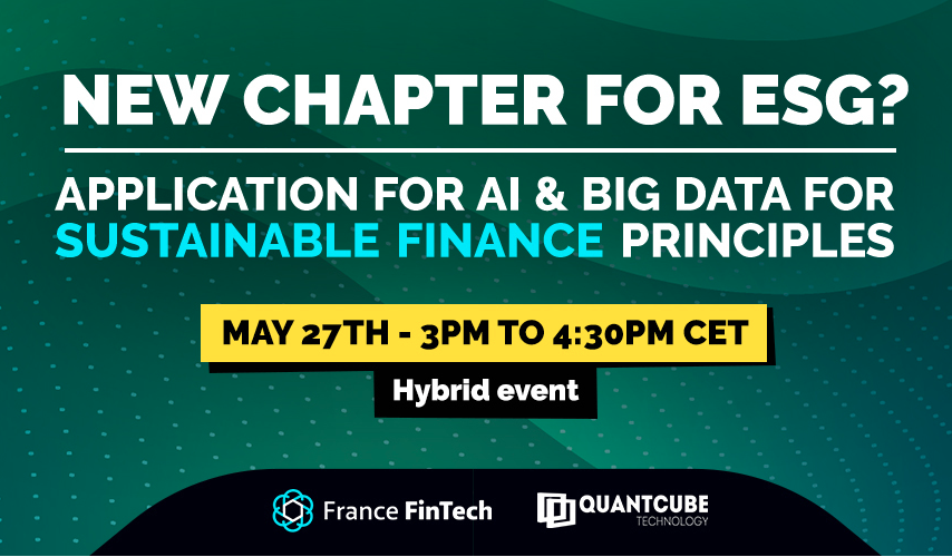 Webinar France FinTech x QuantCube Technology