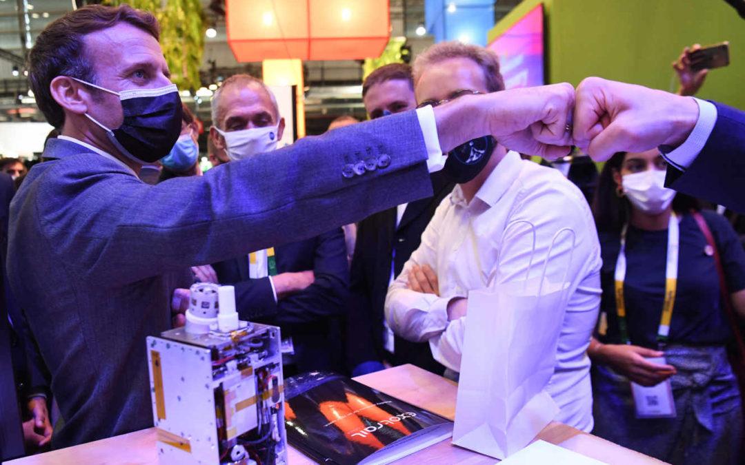 Les patrons de start-up, la « noblesse d'épée » d'Emmanuel Macron