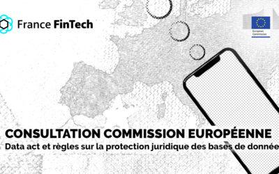 Consultation sur le Data Act et les règles modifiées sur la protection juridique des bases de données