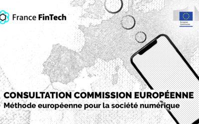 """Consultation sur la déclaration de principes numériques – la """" méthode européenne """" pour la société numérique."""