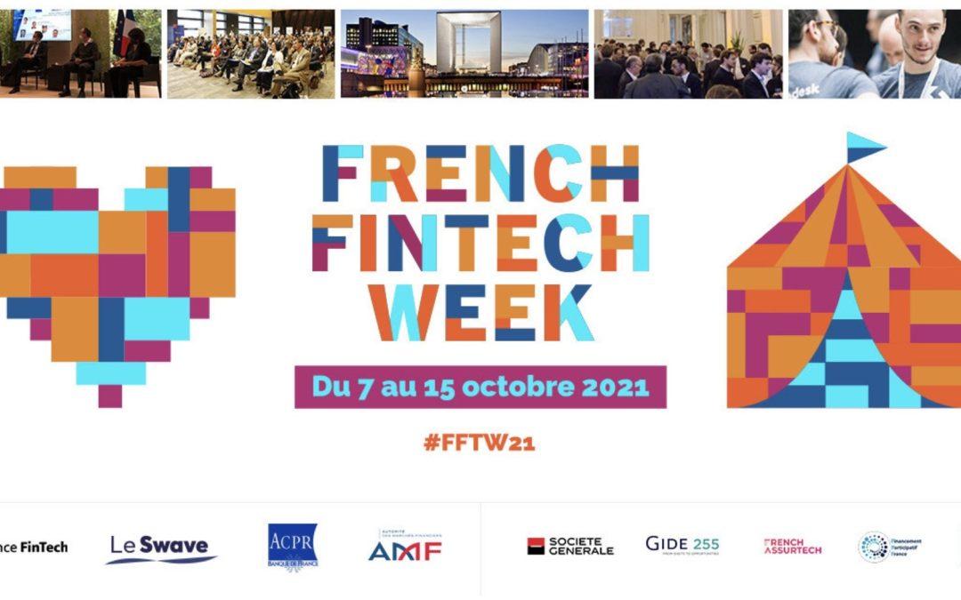 French FinTech Week : la programmation