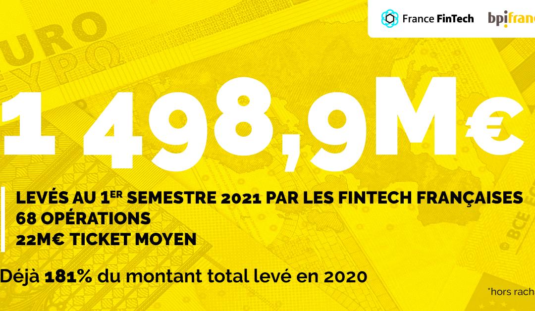 FFT x BPI : Levées de fonds du premier semestre 2021 des fintech françaises